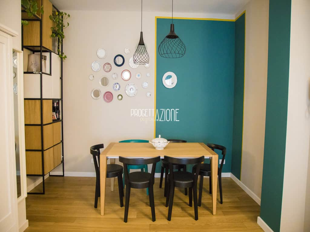 Ristrutturazione soggiorno appartamento Via Ormea, Torino